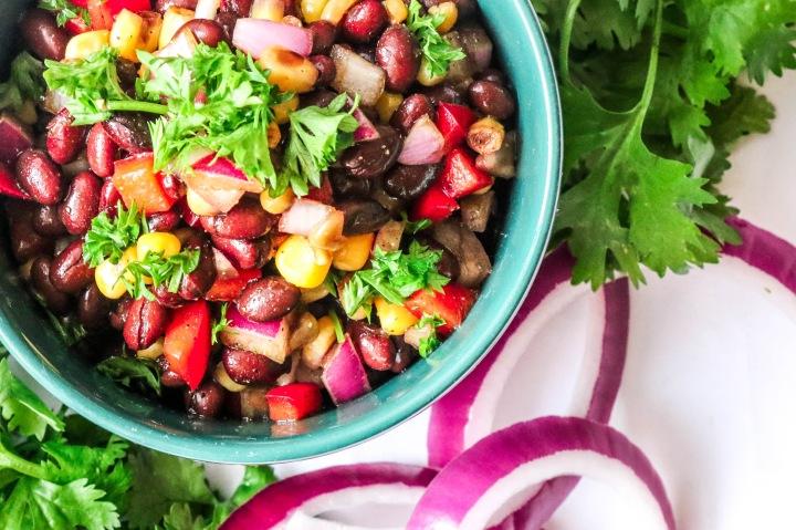 Balsamic Marinated Black BeanSalad